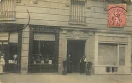 NEUILLY  SUR SEINE Ets ROUSSEL Pianos Au N° 124 - Carte Photo - - Neuilly Sur Seine