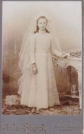 ALOST AALST Communiante Photo CDB Par Jules STERCK Vers 1900 - Photos