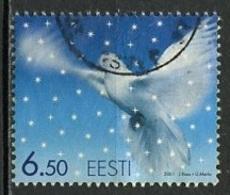 Estonie - Estonia - Estland 2001 Y&T N°408 - Michel N°424 (o) - 6,50k Noël - Estonie