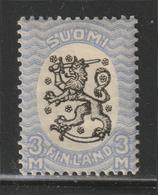 Suomi Finland - 1921 - RARE - Arms Of The Republic - Unwmk - Perf. 14 - MLH* - Nuovi