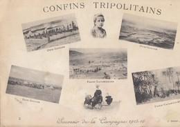 CPA(libye Guerre 1915-1916) CONFINS TRIPOLITAINS  (b.bur THEME) Defaut Au Dos - Libye