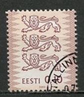 Estonie - Estonia - Estland 2002 Y&T N°412 - Michel N°428 (o) - 0,10k Armoirie - Estonie