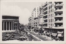 Ägypten - Kairo - Cairo - 26 Th July Street - Hotel Carlton - Cars - Nice Stamp (1969) - Kairo