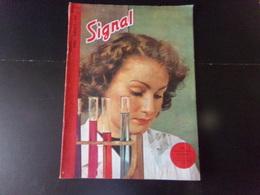 """Signal, Revue De Propagande Allemande N° 9, 1944, """" Une Interne à L'hôpital Universitaire """" - Francés"""