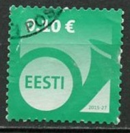 Estonie - Estonia - Estland 2015 Y&T N°(1) - Michel N°840 (o) - 0,10€ Cor De Poste - Estonie