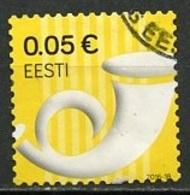 Estonie - Estonia - Estland 2016 Y&T N°(1) - Michel N°863 (o) - 0,05€ Cor De Poste - Estonie