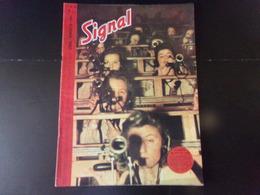 """Signal, Revue De Propagande Allemande N° 10, 1944, """" La Bataille De Nuit Fait Rage """" - Revues & Journaux"""