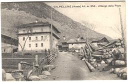 VALPELLINE Valle D'Aosta Albergo Della Posta C. 1908 - Italië