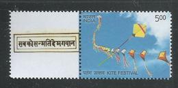 India 2016 Mahatma Gandhi My Stamp, Kite Festival , Gandhiji Slogan , MNH, Ahmedabad Issue Inde Indien - Mahatma Gandhi