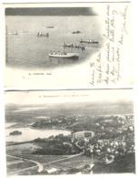 2 Cpa ISORAKA + NOSSI-BE Affranchies + Cachet Paquebot LA REUNION A MARSEILLE L.V. No 1 1905 + Tananarive 1911 - Madagascar