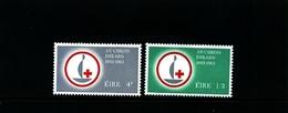 IRELAND/EIRE - 1963  RED CROSS   SET MINT - 1949-... Repubblica D'Irlanda