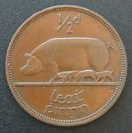 IRLANDE - EIRE - ½ - 1/2 PINGIN 1941 - KM 10 - PENNY - Cochon - Pig - IRELAND - Irlande