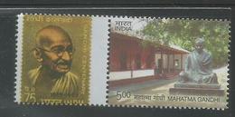 India 2016 Mahatma Gandhi My Stamp,Gandhi Statue ,Gandhiji Stamp Reproduced  , MNH, Ahmedabad Issue Inde Indien - Mahatma Gandhi