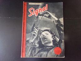 """Signal, Revue De Propagande Allemande N° 2, 1941, """" Une étudiante Ouvrière Aide Les Monteurs """" - Revues & Journaux"""
