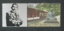 India 2016 Mahatma Gandhi My Stamp,Gandhi Statue ,Young Gandhiji, MNH, Ahmedabad Issue Inde Indien - Mahatma Gandhi