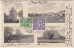 28976g  POLOGNE - GOLANCZ - Eglise - Place - Gare - Chateau - Polen