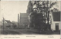 Oostmalle - Zicht Aan De Kerk 1906 (uitg Hoelen Nr 233) - Malle