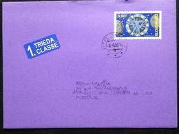 "Slovakia, Circulated Cover To Portugal, ""Europa Cept"", ""Astronomy"", 2009 - Slowakische Republik"