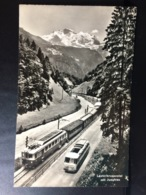 SVIZZERA, SWITZERLAND, SUISSE........Lauterbrunnental Mit Jungfrau - Svizzera