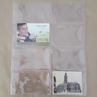 25 Inlegbladen Formaat Din Met 8 Vakken Voor Prentjes - Autres Collections