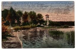 Neustettin, Partie Am See, Alte Ansichtskarte 1924, Szczecinek - Poland