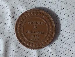 Tunisie 5 Centimes 1891 - Tunisie