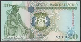 TWN - LESOTHO 16a - 20 Maloti 1994 Prefix E UNC - Lesotho