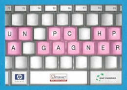 CPM.   Cart'Com.   BNP Paribas.   Banque.    Postcard. - Banques