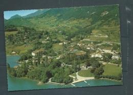 Cpsm Gf  - E.42416. - Talloires ( Haute-savoie) Le Lac D'annecy Et Le Village      - Maca 1130 - Talloires