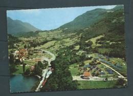 Cpsm Gf  -  Talloires ( Haute-savoie) Vue Aérienne - Camp E.D.F.      - Maca 1132 - Talloires