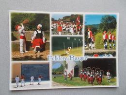 PAYS BASQUE  LE FOLKLORE BASQUE  MULTIVUES TOUTES ANIMEES  VOYAGEE 2006 - Saint Jean Pied De Port