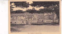 13 / CASSIS / LE QUAI DES BAUX / DU JEU DE BOULES .. / CIGOGNE 608 - Cassis