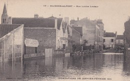 Maisons Alfort Inondations Rue Louise Lesieur - Maisons Alfort