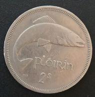 IRLANDE - EIRE - 1 Flóirin / 2 Scilling 1966 - KM 15a - IRELAND - Irlande