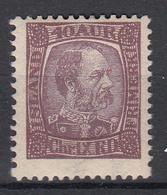 IJSLAND - Michel - 1902 - Nr 43 - MH* - Unused Stamps