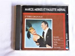 Marcel MERKES Et Paulette MERVAL, 17 Titres Originaux, Compilation CBS - Opéra & Opérette