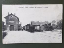 Vallée De L'Aisne  ASFELD (Ardennes) La Gare - France