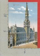 CARTOLINA NV BELGIO - BRUXELLES - Hotel De Ville - 9 X 14 - Monumenti, Edifici