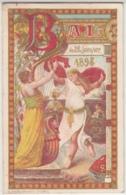 28983g  CARNET DE BAL -  26 JANVIER 1898 - Sin Clasificación