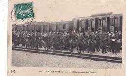 23-creuse- La Courtine-train - La Courtine