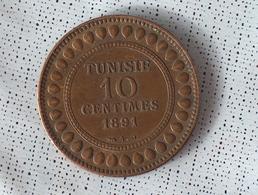 Tunisie 10 Centimes 1891 - Tunisie