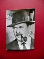 Autografo Gino Cervi Fotografia Commissario Maigret 1966 Spettacolo - Autographes