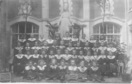 * CARTE PHOTOS 1906 * 75 PARIS X° - ECOLE : ST VINCENT DE PAUL - Photo De Groupe : 1ere COMMUNION FILLES Format CPA - Enseignement, Ecoles Et Universités