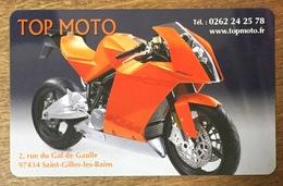 RÉUNION TOP MOTO KTM CARTE TÉLÉPHONIQUE À CODE DE MARQUE XTS TÉLÉCOM PRÉPAYÉE PREPAID PAS TÉLÉCARTE - Motorräder