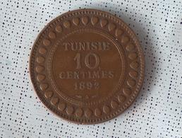 Tunisie 10 Centimes 1892 - Tunisie