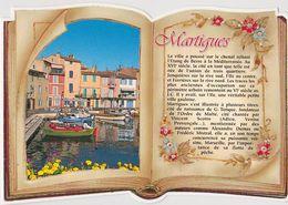 CPM, 13 Martigues, Façon Livre Ouvert, Sté Pec 135686  Non écrite - Martigues