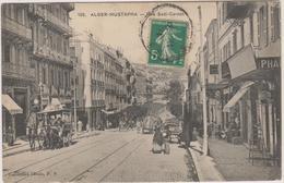 ALGER MUSTAPHA - RUE SADI CARNOT - Pharmacie - Serrurerie Wattebled - Diligence - Calèches - Charrettes - Alger