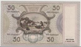 NETHERLANDS   P. 58 50 G 1941 AUNC - [2] 1815-… : Koninkrijk Der Verenigde Nederlanden