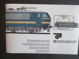 Bl 61 Gest.- Vervoer, Trein - Usados