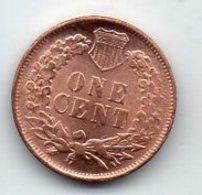USA : 1 Cent 1868 - Émissions Fédérales
